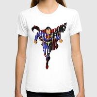 super hero T-shirts featuring Super Hero by Ayse Deniz