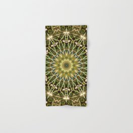 Geometric Forest Mandala Hand & Bath Towel