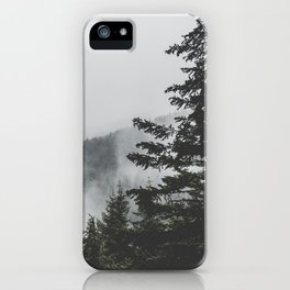 Misty Outdoors iPhone Case