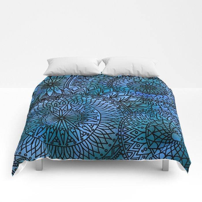 Shifting Currents - LaurensColour Comforters