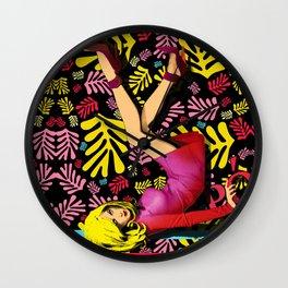 """POP Woman Playing"" Wall Clock"