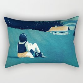 Magical Solitude Rectangular Pillow
