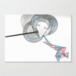Spew Canvas Print