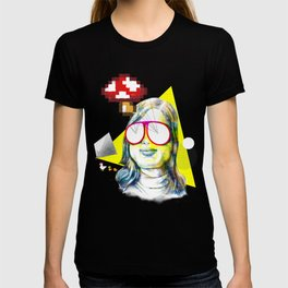 Glasses fly out : Mushrooms T-shirt