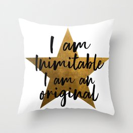 Hamilton Inimitable Throw Pillow