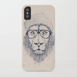 Cool lion iPhone Case