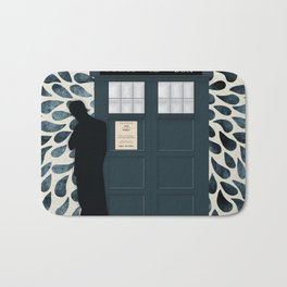 Dr Who and his Timey-Wimey Vehicle Bath Mat