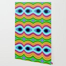 Softly rainbow mask Wallpaper