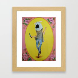 Oveja, Hard Candy series Framed Art Print