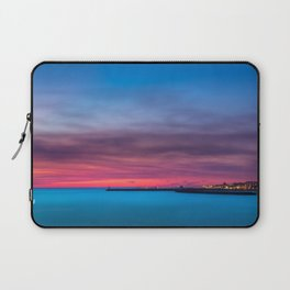 Red sunset over Porto Laptop Sleeve