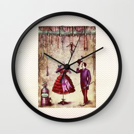 love and other fairytales Wall Clock