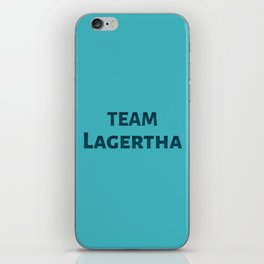 The Lagertha's Army iPhone Skin