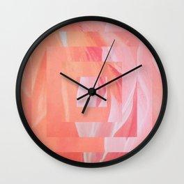PeachPink III Wall Clock