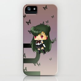 Sailor Pluto iPhone Case