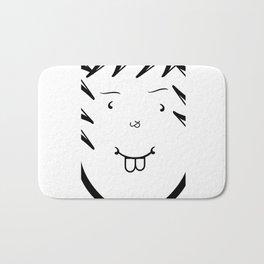 Type Face Bath Mat