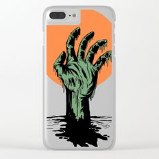Swamp thing 2 Clear iPhone Case