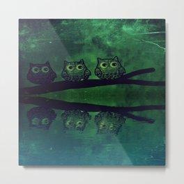 owl-86 Metal Print