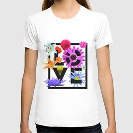 Love Flower Power T-shirt