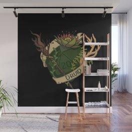 Druid D20 Fantasy Dice  Wall Mural