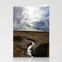 iceland Stationery Cards featuring iceland by katie moon
