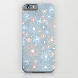 Pales and Grays iPhone Case