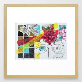 Contemplation Rose (Blanche No. 1) Framed Art Print