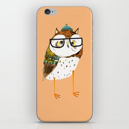 Owl Hipster iPhone Skin