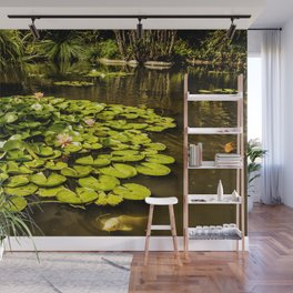 Water Lily Pond at Huntington Gardens No. 2 Wall Mural