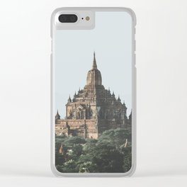 Bagan Temples Clear iPhone Case
