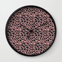 sexy leopard Wall Clock