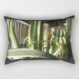 Cactus Garden Blank P4F0 Rectangular Pillow