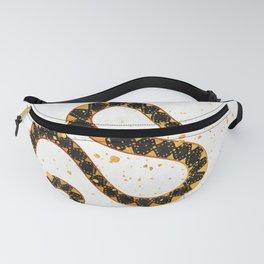 Dark Snake Inktober :: Sleep Copiously Fanny Pack