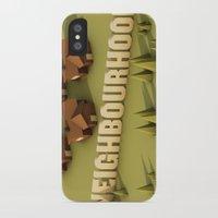 the neighbourhood iPhone & iPod Cases featuring NEIGHBOURHOOD by Nick Lemmens