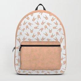 Alpaca Pattern Backpack