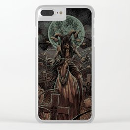 The Somber Undead Clear iPhone Case