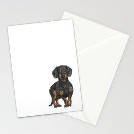 Daschund Stationery Cards