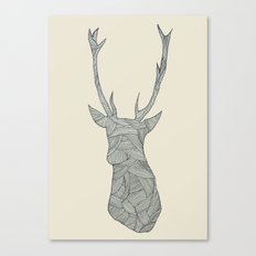 Deer. Canvas Print
