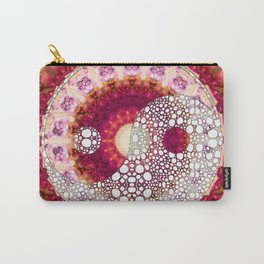 Kindness Mandala Yin And Yang Symbol - Sharon Cummings Carry-All Pouch