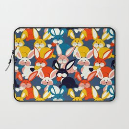 Rabbit colored pattern no2 Laptop Sleeve