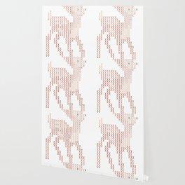 Little deer/fawn cross stitch Wallpaper