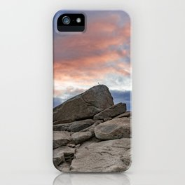 Granite Sunset iPhone Case