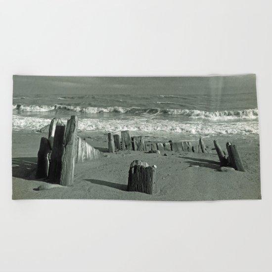 BEACH WORSHIP Beach Towel