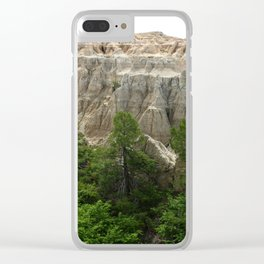 Badlands View From The Rim Road Clear iPhone Case
