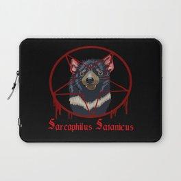 Tasmanian Devil Worshipping Laptop Sleeve
