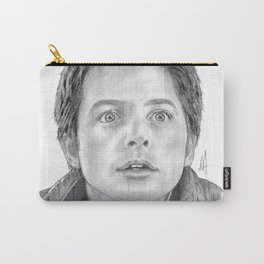 Marty McFly Portrait Carry-All Pouch