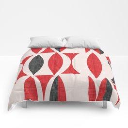 Seventies in Cherry Red Comforters