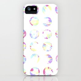 Pastell Dots iPhone Case