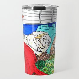 Guinea Pigs In A Cage Travel Mug