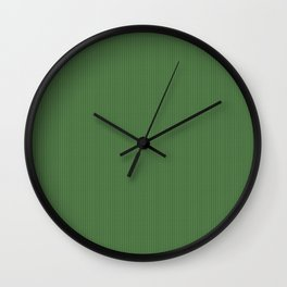 Green Knitted Sweater Wall Clock