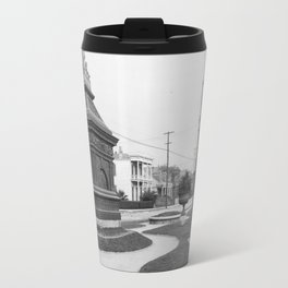 Gayarre Place, New Orleans 1900 Travel Mug